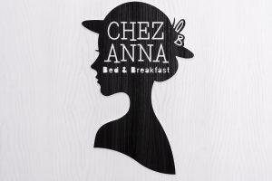 logo b&b chez anna napoli